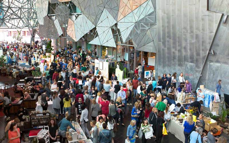 Markit, BakeSale at Fed Square