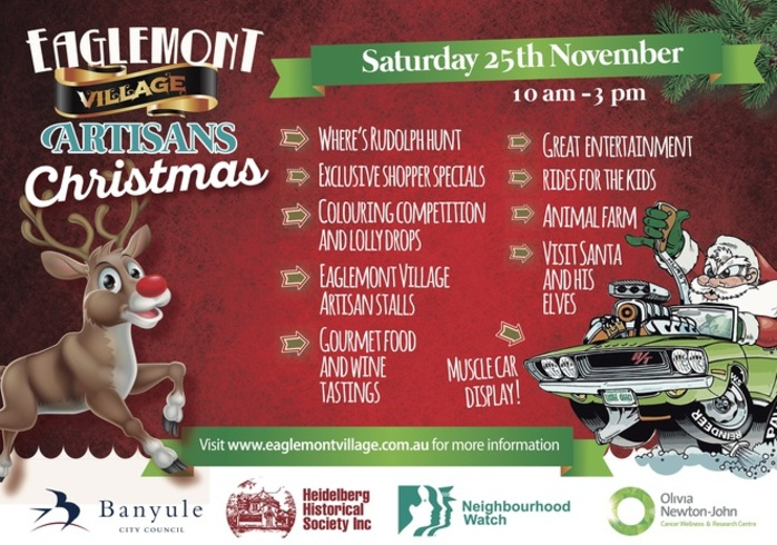 Eaglemont Village Artisan Christmas Market