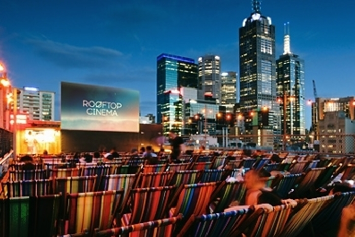 Rooftop Bar Cinema - Curtin House