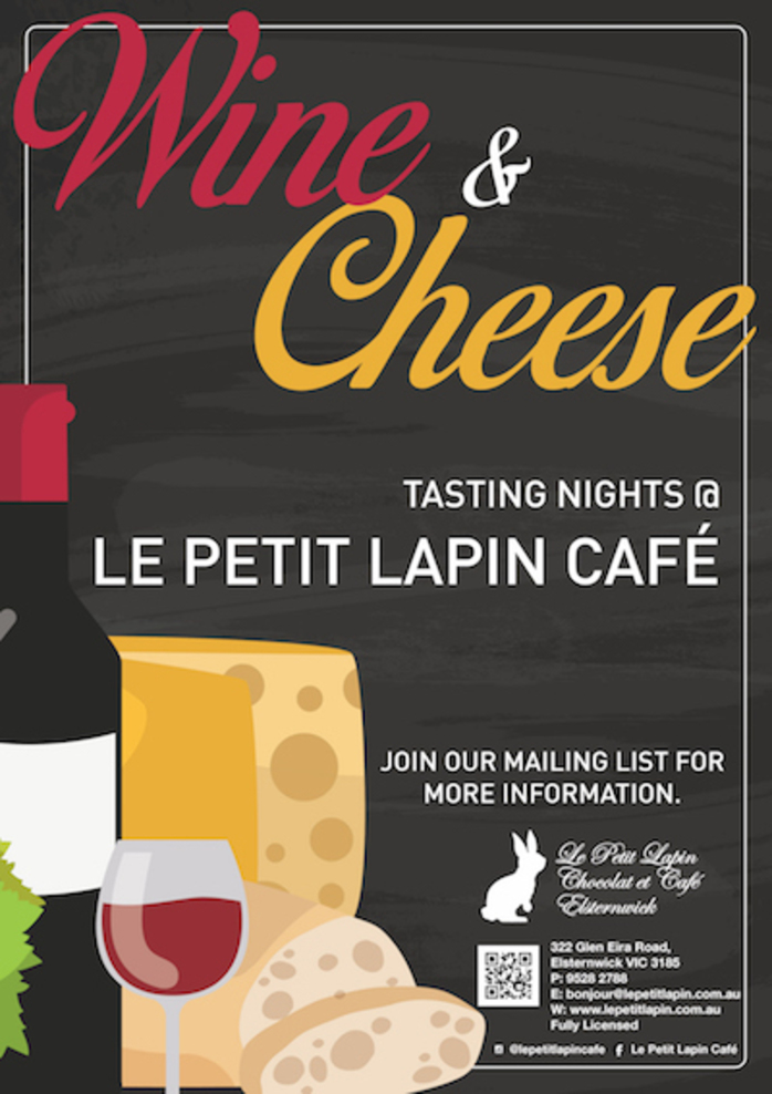 Wine Cheese Tasting Nights - Melbourne